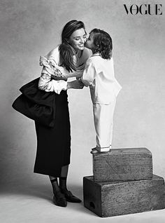 Miranda Kerr and Flynn Bloom in Vogue Australia | POPSUGAR Celebrity