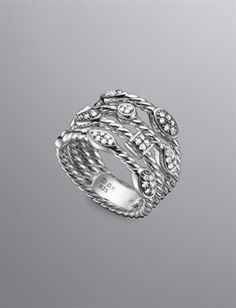 David Yurman Women's 4-Row Confetti Ice Ring