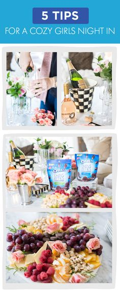 What's the key to a memorable and easy night with the girls? Salty and sweet snacks of course—like OREO Thins Bites paired with a cheese plate! Check out these 5 Tips for a Cozy Girls Night In to get even more ideas for hosting your favorite ladies. Pick up everything you'll need for this simple celebration at your local Kroger store.