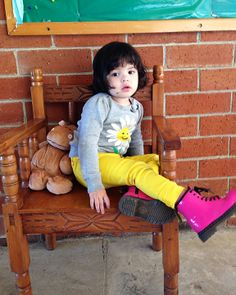 attitude toddler baby girl beautiful fashion doc martens pink boots