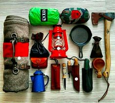 Bushcraft and Chill Survival Kit ///