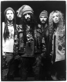 White Zombie--okay not a favorite band--but because their show was beyond amazing live, i saw them 4 yrs in  a row