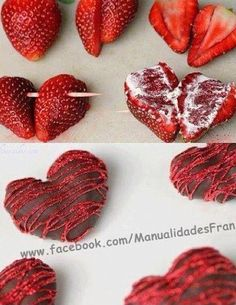 valentines day food Hearts decorations a Hearts decorations and heart-shaped sweets are wonderful Valentines Day ideas. on February 14 love is everywhere. Sweet delicious hearts make wonderful gifts and perfect edible decorations. Valentine Desserts, Valentines Day Food, Valentine Treats, Holiday Treats, Holiday Recipes, Valentines Day Chocolates, Valentines Day Decorations, Romantic Valentines Day Ideas, Recipes Dinner