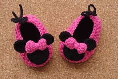 Ravelry: Minnie Mouse Crochet Shoes Pattern 12-24 months pattern by Beauty Crochet Pattern
