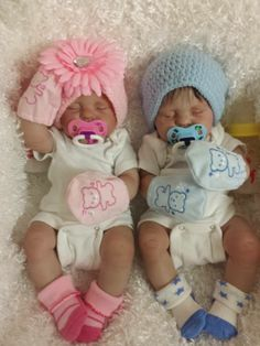 Reborn anatomically correct twins.
