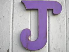 Shabby chic Wooden letter J Wedding initial photo by LettersofWood, $28.00