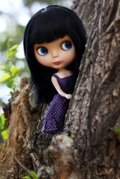 On the Other Side of the Tree by Maribel Diaz / Voodoolady / 4dloveofblythe