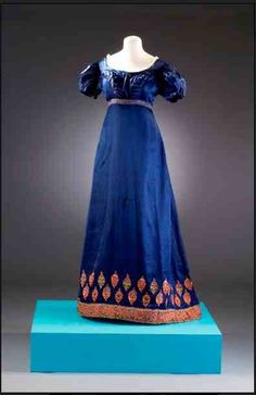 A gown worn by Betsy Patterson Bonaparte.