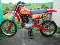 Maico 490 Motocross Love, Motocross Bikes, Vintage Motocross, Vintage Racing, Mx Bikes, Sport Bikes, Cool Bikes, Motorcycle Dirt Bike, Motorcycle Design