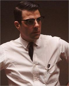 foto Zachary Quinto - doctor Thredson