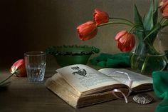 Red tulips by Elena Kolesneva on 500px