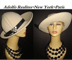 Vintage 1950s Hat High Fashion Hollywood Designer by vintagediva60, $85.00