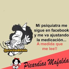 Mundo de Postales: MI PSIQUIATRA ME SIGUE EN FACEBOOK...