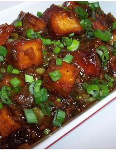 chili paneer.  The sauce was wonderful, but I found out I am not a big fan of paneer.  I'll make it with tofu next time.