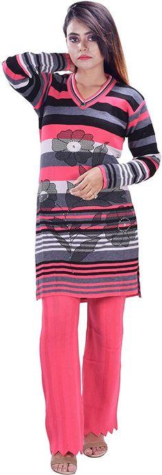 Woolen kurta Woolen Clothes, A Line Kurta, Bra Sizes, Kurti, Breast, Slim, Fitness, Tops, Women