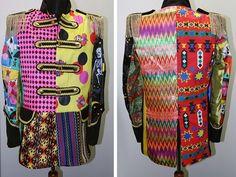 Lapjesjas met Carnaval is dé verkleedtrend. Omdat ieder jasje uniek is en goed gecombineerd kan worden met een Venetiaans masker, kleurrijke broek en veren.