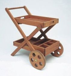 Carrinho de chá e bebida SolBut Cod 021347755 Truck Design, Wooden Projects, Tissue Boxes, Wood Design, Craftsman, Bbq, Woodworking, Wood Work, Interior Design
