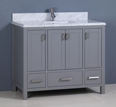 "Vanity Bathroom Canada brittany 36"", james martin urban grey transitional bathroom vanity"