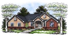 Traditional   House Plan 73337