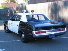 "Curbside Classic: 1975 Chevrolet Nova Custom – ""X"" Marks The Spot Of Its Uncertain Future Old Police Cars, Old Cars, Dodge Vehicles, Police Vehicles, Los Angeles Police Department, Chrysler New Yorker, Car Badges, American Motors, Emergency Vehicles"
