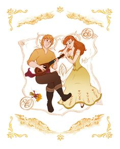 Anna and Kristoff - For the 1st time in Forever