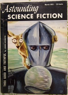 Astounding -- Science Fiction Magazine