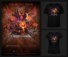 """""""Hi guys, all 3 of the Dota Metal Meta series [PRINTS] and [TEES] are now out on the welovefine store!  https://t.co/gqYcSw0w56"""""""