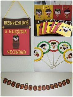 Birthday Party Pack El Chavo del Ocho/ El por PaperPartyPacks