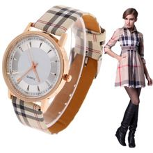2015 nova marca de luxo Quartz Watch moda feminina Casual relógios de pulso de couro relógio de ouro relógio de hora relogio relojes feminino