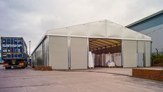 The Smart Space temporary building solves an immediate capacity problem and can provide years of use for Resin Handling Services.