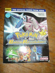Pokemon Battle Revolution Strategy Guide Nintendo Wii - Official Nintendo Guide