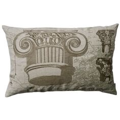 I pinned this Grecian Capital Pillow from the Lightweight Linen event at Joss and Main!