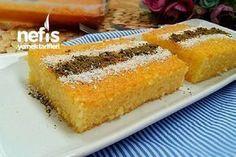 Süt Şerbetli 3 Dakika Tatlısı Tarifi nasıl yapılır? 10.056 kişinin defterindeki bu tarifin resimli anlatımı ve deneyenlerin fotoğrafları burada. Yazar: Nesli'nin Mutfağı Sorbet, Turkish Recipes, Ethnic Recipes, Turkish Kitchen, Beautiful Cakes, Food To Make, Bakery, Cornbread, Deserts