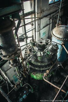abandoned vitamin factory in Russia 2014
