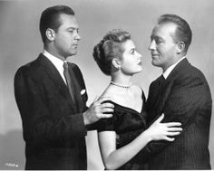 """William Holden, Grace Kelly,  Bing Crosby in """"The Country Girl""""  (1954)  Grace Kelly - Best Actress 1954"""