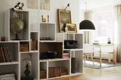 Muuto's Stacked modules in action. Decorated by Moodhouse.