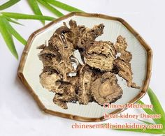 Chinese Atractylodes Have Good Effects On Treating Edema In Kidney Failure