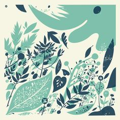 FOREST FLOOR silkscreen print by lfop on Etsy (found via Creature Comforts) Design Textile, Colour Pallette, Color Combos, Forest Floor, Creature Comforts, Silk Screen Printing, So Little Time, Beautiful Birds, Textures Patterns