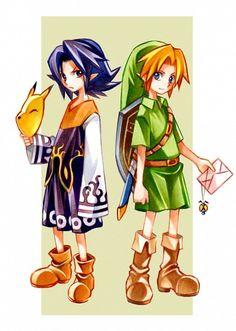 The Legend of Zelda Majora's Mask via Pixiv