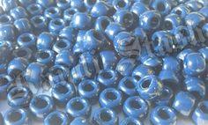100 NAVY BLUE pony beads by KandiStash on Etsy, $2.00