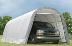 Carports - 13 X 28 X 10 Round Style Extended Garage ** Visit the image link more details. (This is an Amazon affiliate link)