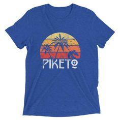 adb3a687ddc2 Details about Short sleeve t-shirt Piketo Miami