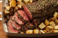 Roasted, Herbed Beef Tenderloin