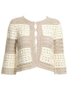 crochet jacket from monsoon