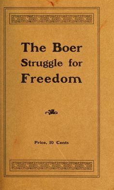 The Boer war;