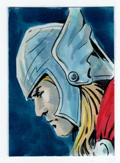Thor Comic Art