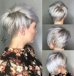 10 Kurzhaarschnitte mit etwas mehr Länge in wunderschönen Blondfarben. Auch perfekt für diejenigen, die ihre Haare wachsen lassen möchten. - Neue Frisur