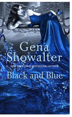 Book Review: Black and Blue by Gena Showalter + Halloween Trick or Treat book blast contest | I Smell Sheep