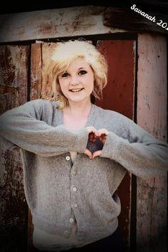 Senior Photo   Savanah Marion, Michigan  Marion High School Class of 2014