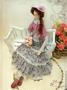 Купить Кукла в стиле Бохо: Аделина - тильда, кукла Тильда, куклы тильды, текстильная кукла